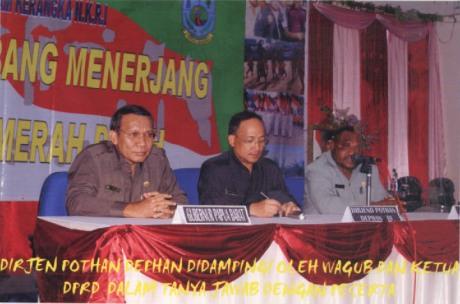 Diskusi NKRI di Papua Barat 2007
