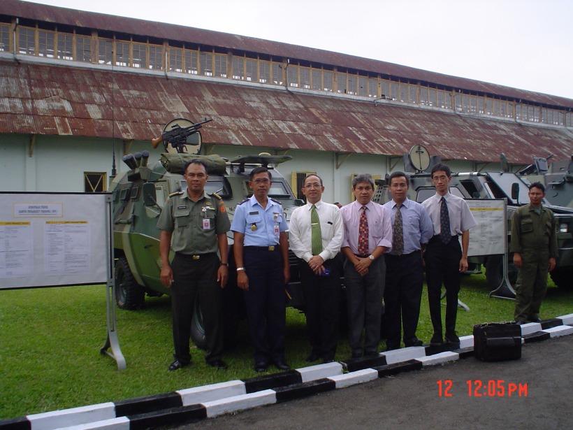 Sebagai Dekan FTUI, Bersama Tenaga ahli designer Nasional, Ranpur PP di Bengpuspalad 2004