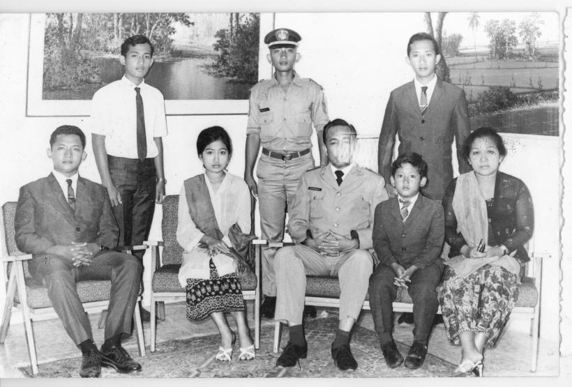 Keluarga Brgjen dr. Soepandji, 1970 2